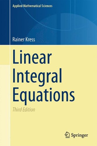 Linear Integral Equations  Applied Mathematical Sciences