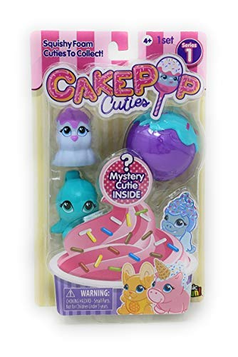 Basic Fun Inc Cake Pop Cuties - Surprise Multi Pack Series 1 - Style 1 ()