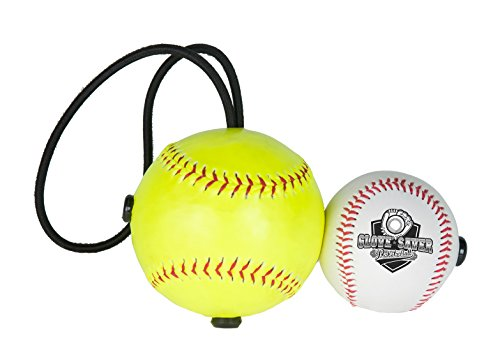 The Original Glove Saver Pocket Ball (white and yellow, 2 ball)