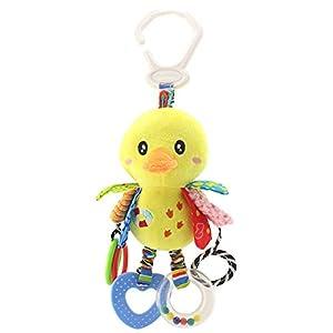 BONNIO Clip On Pram and Pushchair Newborn Baby Toy Stroller Bed Spiral Activity Hanging Toys