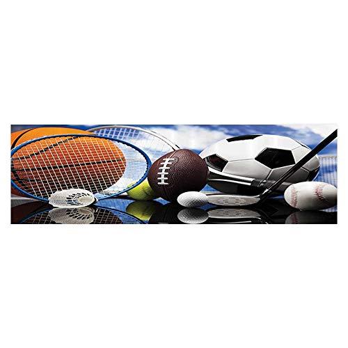Jiahong Pan Aquarium Sticker Equipment Football Soccer Darts Ice Hockey Baseball Basketball Wallpaper Sticker Background Decoration 23.6