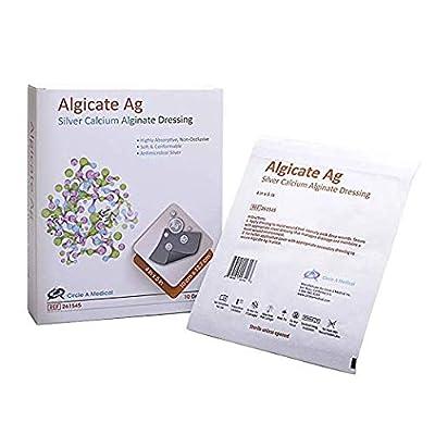 Algicate Ag Silver Calcium Alginate Wound Dressing Sterile
