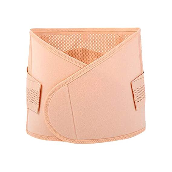 LuvLap Post Natal Maternity Corset Belt, postpartum tummy shaper, XL