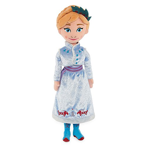 Disney Collection Frozen Anna Plush Doll-17 Inch-Olaf's Frozen Adventure