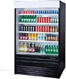 Turbo Air TOM-36E Vertical Open Display Merchandiser