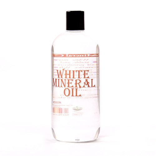 (Mystic Moments White Mineral Oil Carrier Oil 100% Pure 500Ml 500Ml)
