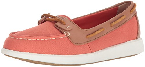 Sperry Top-Sider Women's Oasis Loft Canvas Boat Shoe Red