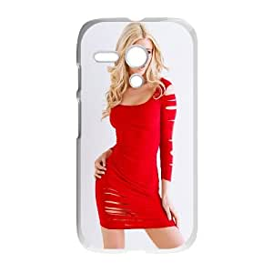 Olivia Paige Girl Motorola G Cell Phone Case White PhoneAccessory LSX_789417
