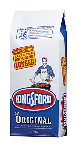 (Kingsford Original Charcoal Briquettes, 7.7 Pound Bag (Pack of 2) (Packaging May Vary) )