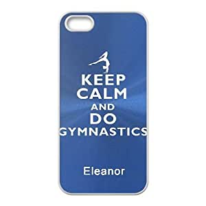 iphone5 5s case(TPU), keep calm and carry Cell phone case White for iphone5 5s - HHKL3339247