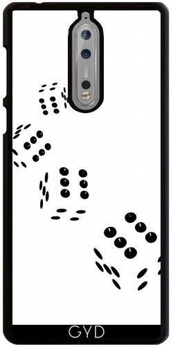 Funda para Nokia 8 - Tumbling La Cadena Blanca by Brian Raggatt