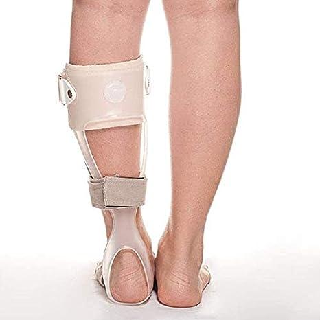 Antideslizante caída del pie Órtesis ortopédica AFO Férula de Tobillo Tratamiento for la Fascitis Plantar De Transpirable tendinitis de Aquiles y la caída del pie, Izquierda, S 929 (Size : S)