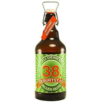 Bier Geschenk Zum 38geburtstag Geburtstagsgeschenk