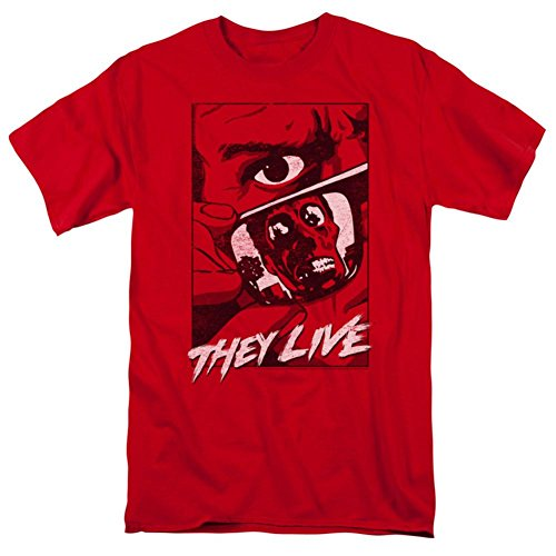They Live- Graphic Poster T-Shirt Size XXL