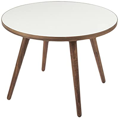 Control Brand The Sputnik Coffee Table - Simple, white, side table for your living area Made from solid wood with white melamine colored tops A round table available in three different sizes to compliment your room - living-room-furniture, living-room, coffee-tables - 41gRcoYy4kL. SS400  -