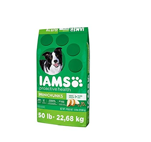 Iams ProActive Health Dog Food, Adult MiniChuncks (50 lbs.)