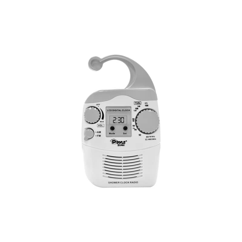 Pyle Home PSR6 Waterproof Shower Clock R