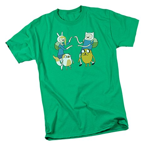 Meet Up -- Adventure Time Youth T-Shirt, Youth Medium (T-shirt Time Youth Big)