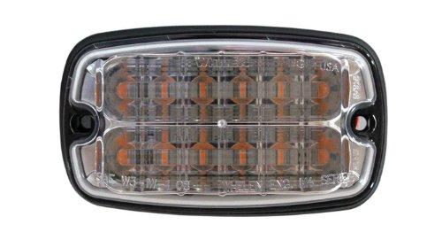 Whelen M4 Linear Super-LED Lighthead - Amber LEDs, Clear Lens