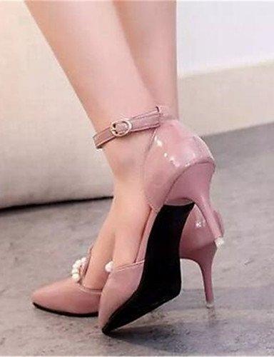 Bianco Fiesta rosa mujer tacones 5 cn40 uk6 noche stiletto di tacones Blu ZQ us8 eu39 Rosa 5 n uk6 rosa cn39 ¨ tac semicuero uk vestido Scarpe negro ® us8 eu39 UPqxET