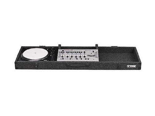- Odyssey CDJ19E Carpeted Dj Coffin With Surface Mount Latches For A 19 Mixer And 2 Turntables In Standard Position