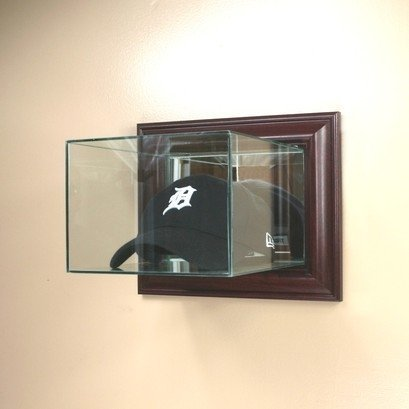 Case Cap Display Hat (Cap / Hat Wall Mounted Glass Display Case)