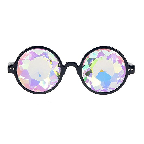 OMG_Shop Festivals Kaleidoscope Glasses Rainbow Prism Sunglasses Goggles - Cn B-sunglasses