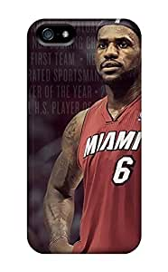 Hot Snap-on 2013 Lebron James Hard Cover Case/ Protective Case For Iphone 5/5s