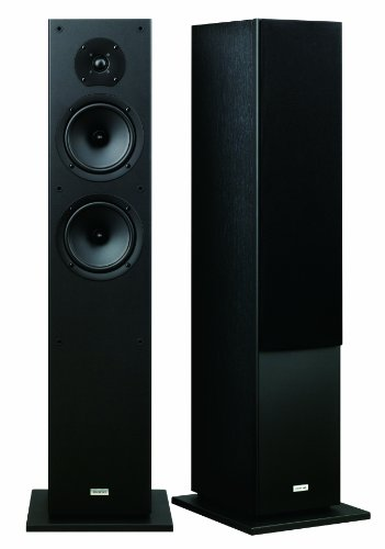 home theater front speakers. onkyo skf-4800 2-way bass reflex floor-standing speakers (pair) home theater front