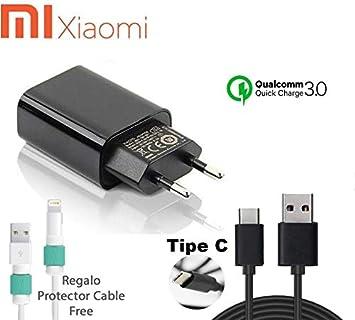 TPC - Cargador Rápido Original Xiaom MDY-03-AF (12W) USB-C ...