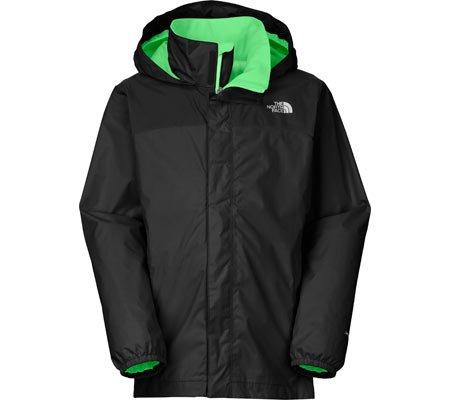 8ef7645c3b The North Face Kids Boys Resolve Reflective Jacket (Little Big Kids),  Asphalt Grey