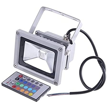 Buy 10w rgb led flood light outdoor ip65 online at low prices in 10w rgb led flood light outdoor ip65 mozeypictures Image collections