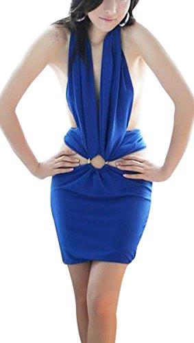 Paplan Azul Base sin respaldo de la ropa interior atractiva uniforme Azul