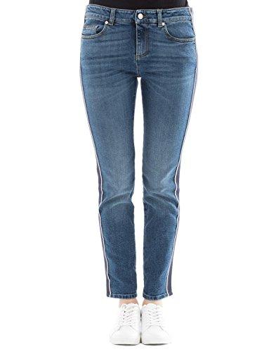 Alexander McQueen Women's 501957Qkm034340 Blue Cotton Jeans by Alexander McQueen