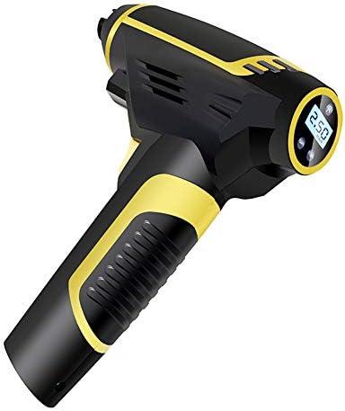 ポータブルタイヤインフレータ、カータイヤインフレータ - ハンドヘルド電動コンプレッサー、デジタル圧力計 - LCDディスプレイ、LEDライト、ピンアタッチメント&カーアダプタが含まれています
