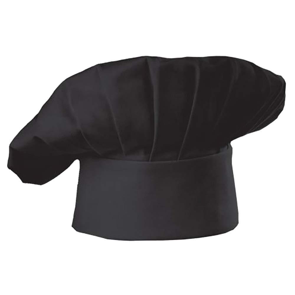 Youtaimei Producto satisfactorio Ajustable El/ástico Cocina Cocinar Chef Sombrero Durable Poly Algod/ón Seta Unisex Kitchener Chef Gorra para pasteler/ía Cocina Cocinar Chef Obras Color : B