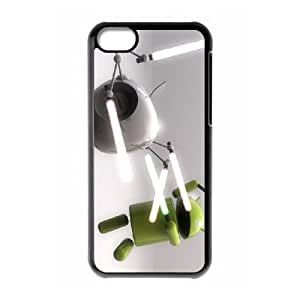 funny android iPhone 5c Cell Phone Case Black gift pjz003-3902699