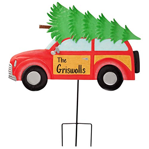Miles Kimball Personalized Woody Wagon Lawn Stake by for sale  Delivered anywhere in USA