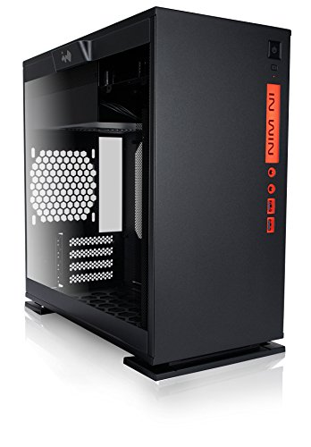 InWin 301 Black Tempered Glass Premium Micro-ATX Mini-ITX Tower Gaming Computer Case by InWin