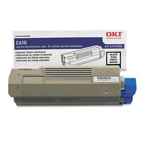Okidata Brand C610n Standard Page Yield Black Toner - 44315304