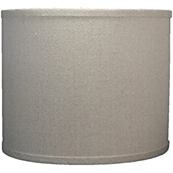Urbanest Linen Drum Lamp Shade 12 Inch By 12 Inch By 10