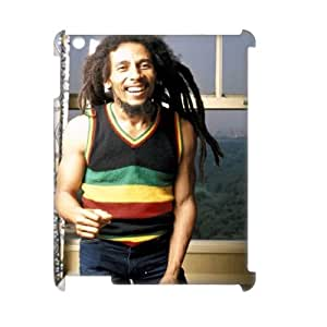 YYCASE Bob Marley Pattern 3D Case for iPad 2,3,4