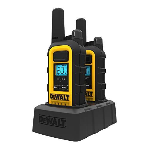 DeWALT DXFRS300 1W Walkie Talkies Heavy Duty Business Two-Way Radios (Pair) by DEWALT (Image #5)