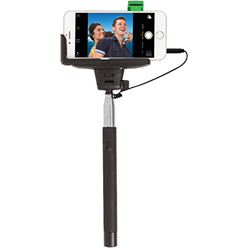 The Original #SelfieStick by ReTrak Wired Built-In ! Fits al