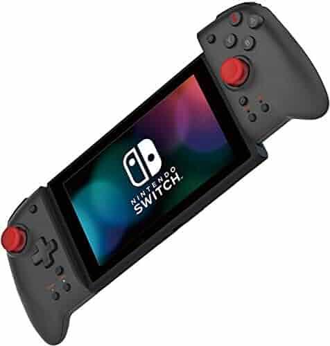 HORI Nintendo Switch Split Pad Pro (Daemon X Machina Edition) Ergonomic Controller for Handheld Mode - Officially Licensed By Nintendo - Nintendo Switch
