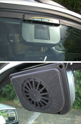 Superb Solar Powered Automatic Car Cooler (649)   Keep Your Car Cool This Summer!