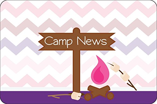 "Camp Fire Girl Camp Postcards | Kid Postcards | Camp Stationery | 6"" X 4"" Postcards for Kids"