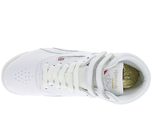 Freestyle Hi Hi Baskets Reebok Reebok Blanc Blanc Baskets Freestyle pqBgw