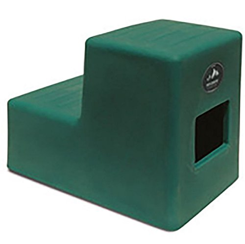 High Country Plastics MS-19FG Two Mounting Step, Medium/19, Forest Green