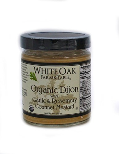 able Organic Mustard, Dijon with Garlic and Rosemary Gourmet, 9 Ounce ()